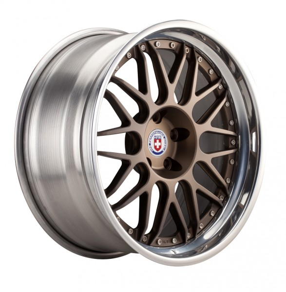 """HRE wheels C100 motorsport kovaná třídílná alu kola - 18"""""""