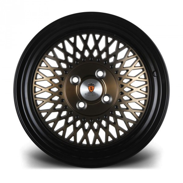 Stuttgart Wheels ST1 15x8 ET25 4x100 alu kola - černé