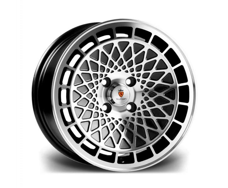 Stuttgart Wheels ST7 15x8 ET25 4x100 alu kola - černé