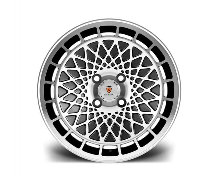 Stuttgart Wheels ST7 16x8 ET20 4x100 alu kola - černé