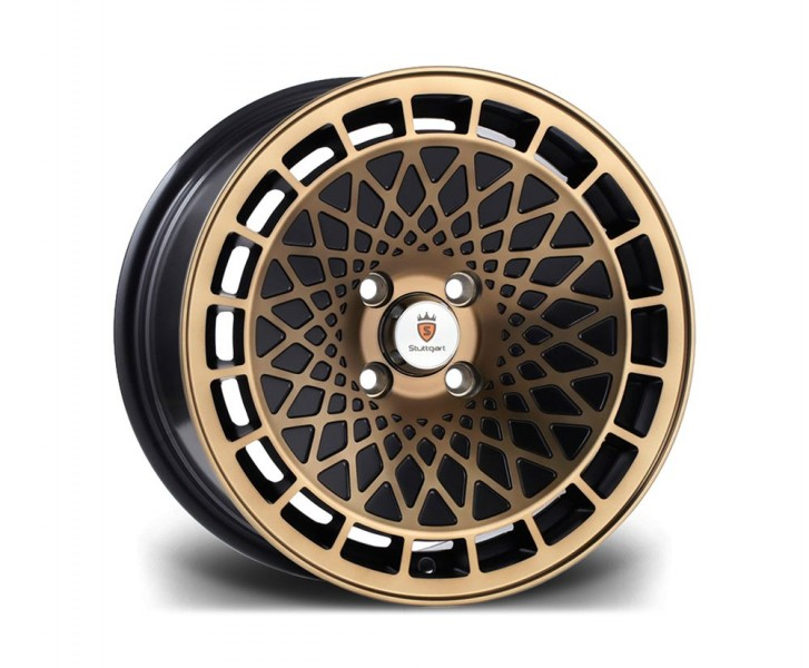 Stuttgart Wheels ST7 16x8 ET20 4x100 alu kola - bronzové černé