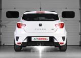 Catback výfuk SEAT Ibiza Cupra 1.4 TSI Milltek Sport - bez rezonátoru / leštěné koncovky