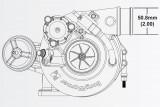 Turbodmychadlo BorgWarner EFR 6258 AL T25 SingleScroll 0.85 s WG