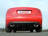Catback výfuk AUDI A4 B7 quattro 2.0 TFSI (Manuál) Milltek Sport - bez rezonátoru / leštěné koncovky