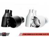 AWE Tuning Switchpath Edition Catback výfuk pro Porsche Boxster / Cayman (982) - chromované koncovky 102mm