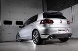 Turboback výfuk VW Golf 6 GTI EDICE 35 2,0 TSI Milltek Sport - bez katalyzátoru / bez rezonátoru / leštěné koncovky