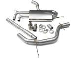 Catback výfuk VW Golf 6 2,0 TDI 140PS Milltek Sport - bez rezonátoru / leštěné koncovky