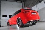 Klapkový Catback výfuk AUDI RS3 8P Sportback 2,5 TFSI Milltek Sport - bez rezonátoru / leštěné koncovky