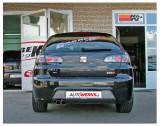 Catback výfuk SEAT Ibiza 6L FR 1.8 T Milltek Sport - bez rezonátoru / leštěná dvojitá koncovka