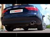 Catback výfuk AUDI A5 Coupé 2.0 TDI Milltek Sport - bez rezonátoru / leštěné koncovky Dual