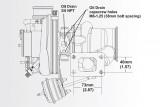 Turbodmychadlo BorgWarner EFR 6258 T25 SingleScroll 0.64 s WG