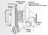 Turbodmychadlo BorgWarner EFR 7064 T3 SingleScroll 0.83 s WG