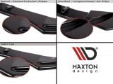 Maxton Design Prahové lišty Seat Leon Mk2 Cupra Facelift - texturovaný plast