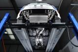 Klapkový catback výfuk VW Golf 7 R 2,0 TSI Milltek Sport - bez rezonátoru / kulaté leštěné koncovky