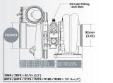 Turbodmychadlo BorgWarner EFR 9280 AL T4 TwinScroll 1.05 bez WG