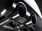 Turboback výfuk VW Golf 6 R 2.0 TSI Milltek Sport 70mm - bez katalyzátoru / bez rezonátoru s leštěnými koncovkami