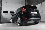 Catback výfuk Ford Fiesta Mk7 ST & ST200 1.6T EcoBoost Milltek Sport - bez rezonátoru / leštěné koncovky