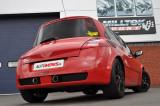 Catback výfuk Renault Megane Mk2 RS 225 / 230 Milltek Sport - bez rezonátoru / leštěné koncovky
