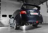 Catback výfuk Subaru Impreza WRX STi Sedan Milltek Sport - s rezonátorem / leštěné koncovky