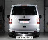Catback výfuk VW Transporter / Caravelle T5 SWB 1.9 TDI / 2.0 TDI / 2.5 TDI Milltek Sport - bez rezonátoru / skrytá koncovka