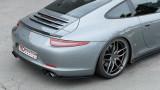 Maxton Design Boční lišty zadního nárazníku Porsche 911 Carrera (991.1) - texturovaný plast