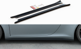 Maxton Design Prahové lišty Porsche 911 Carrera (991.1) - texturovaný plast