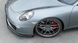 Maxton Design Spoiler předního nárazníku Porsche 911 Carrera (991.1) V.1 - texturovaný plast