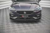 Maxton Design Spoiler předního nárazníku Seat Leon FR Mk4 V.2 - texturovaný plast