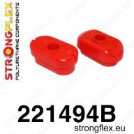 Set silentbloků motoru / převodovky Strongflex Škoda Octavia 1U RS 1,8T 20V