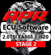 APR Stage 2 úprava řídící jednotky chiptuning Škoda Octavia 5E RS 2,0 TSI RS245 - Při kombinaci s APR prvním dílem výfuku