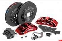 APR Brzdový kit obsahuje 380x34mm kotouče a 6ti pístkové třmeny Big brake kit BBK AUDI RS3 Hatchback