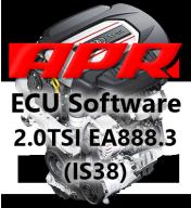 APR Stage 1 úprava řídící jednotky chiptuning VW Golf 7R 7.5 T-Roc 4x4 2,0 TSI 221kW GPF OPF