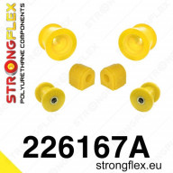 Set PUR silentbloků přední nápravy Strongflex Škoda Octavia II RS 1Z 2,0 TFSI TDI