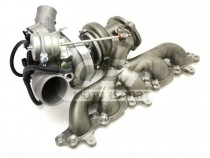 LO450 Hybridní turbodmychadlo pro 2,5 Turbo Ford Focus / Volvo - Loba Motorsport