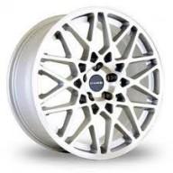 "LP560 alu kola 18x8"" 5x100 ET35 Dare Motorsport - stříbrné"