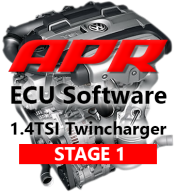 APR Stage 1 Úprava řídící jednotky chiptuning VW Touran 1,4 TSI Twincharger 103kW 125kW