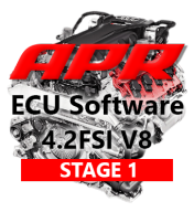 APR Stage 1 444hp 504Nm chiptuning AUDI RS4 B7 4,2 V8 FSI