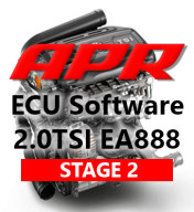 APR Stage 2 278hp 442Nm chiptuning AUDI A3 TT 2,0 TSI - S APR Cast Downpipe