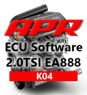 APR Stage K04 366hp 515Nm chiptuning AUDI A3 TT 2,0 TSI