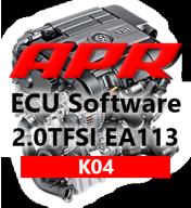 APR Stage K04 323hp 454Nm chiptuning VW Golf 5 GTI Passat 2,0 TFSI