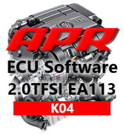 APR Stage K04 323hp 454Nm chiptuning AUDI A3 TT 2,0 TFSI