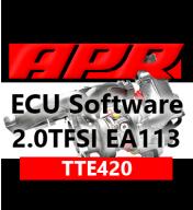 APR TTE420 úprava řídící jednotky chiptuning VW Golf 6 R 2,0 TFSI 195kW