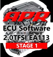 APR Stage 1 úprava řídící jednotky chiptuning VW Golf 6 R 2,0 TFSI 195kW