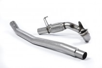 1. díl výfuku VW Golf 7 R Variant 2.0 TSI Downpipe Milltek Sport - bez katalyzátoru