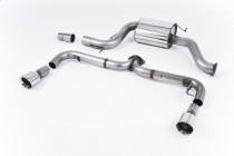 """Catback výfuk VW Golf 6 GTI EDICE 35 2,0 TSI Milltek Sport - bez rezonátoru / leštěné koncovky """"Special"""