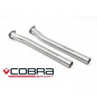 Cobra Sport 2. díl výfuku AUDI RS3 (8V) Sportback - bez katalyzátoru