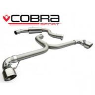 Cobra Sport Cat Back Venom Range výfuk pro VW Scirocco R - koncovka TP34