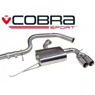 Cobra Sport Cat Back výfuk pro VW Golf (5K) GTD 2.0 TDI - koncovka TP41