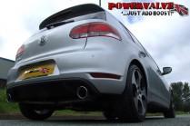 BCS Automotive Cat Back výfuk VW Golf 6 GTI 2,0 TSI 155kW - Sport