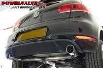 BCS Automotive Turbo Back výfuk VW Golf 6 GTI & ED35 2,0 TSI - Sport De-Cat